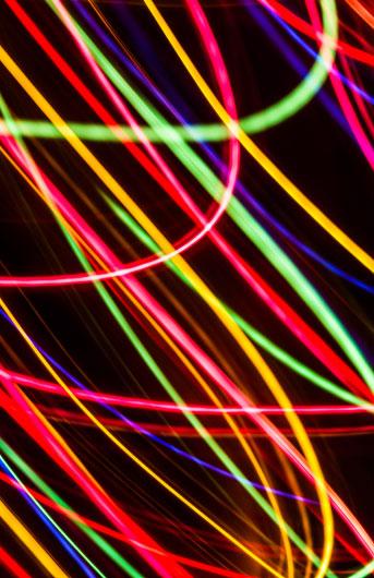 neon candies